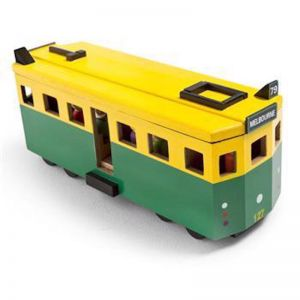 Wooden Toy Melbourne Tram