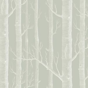 Woods Wallpaper - Old Olive