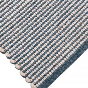 Woven Pinnacle Rug | Sea Blue