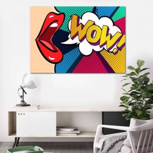WOW 2 | Canvas Print