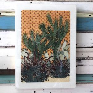XL Woodblock | Prickle Patch | Wall Hanging