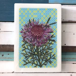 XL Woodblock | Rose Coneflower