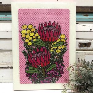 XL Woodblock | Wildflower Bunch