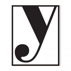 Y | Framed Print | Artefocus