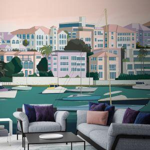 Yacht Club | Wallpaper Mural