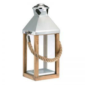 Yala Glass Lantern | Medium by Satara