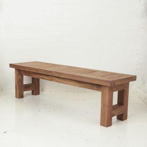 Yashar Rustic Bench Seat Small