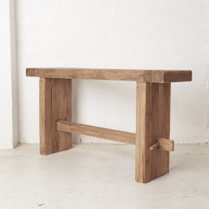 Yashar Rustic Console Large l Custom Made