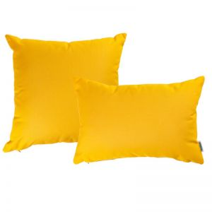 Yellow | Sunbrella Fade and Water Resistant Outdoor Cushion | Outdoor Interiors