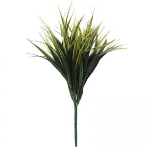 Yellow Tipped Grass Stem | UV Resistant | 35cm