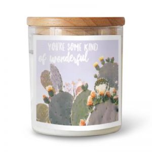 You're Some Kind Of Wonderful Soy Candle | Joshua Tree Flowering Cactus