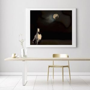 You Saw The Whole Of The Moon | Photographic Art Print by Black Colt Photography
