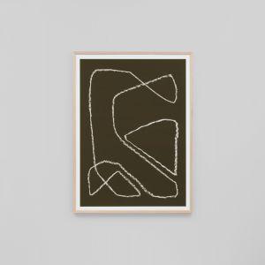 Yves Khaki 3 | Framed Art Print