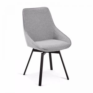 Zaki Swivel Dining Chair | Tauype | CLU Living