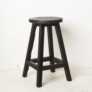Zana Bar Stool l Black or Natural