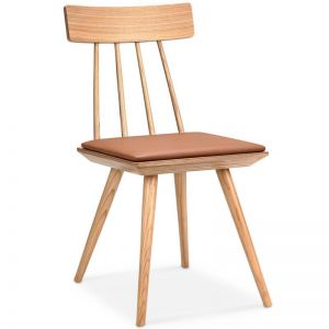 Zana Dining Chair | Tan + Ash | Modern Furniture
