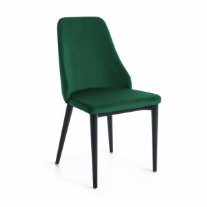 Zane Dining Chair | Emerald Green Velvet | CLU Living