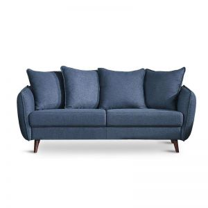 ZARIA 3 Seater Sofa - Blue