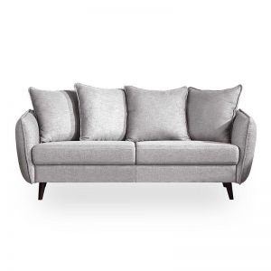 ZARIA 3 Seater Sofa - Grey