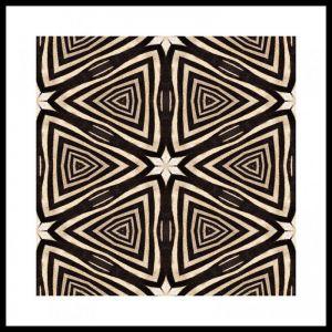 Zebra #6 | Framed Art Print | 85x85cm | by Artscope