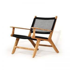 Zen Accent Armchair | Black