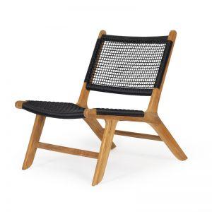 Zen Accent Chair   Black