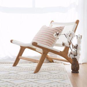 Zen Accent Chair | White