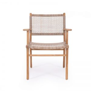 Zen Armchair – Washed Grey