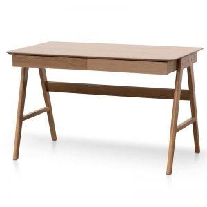 Zeno Wooden Office Desk | Natural | 1.2m
