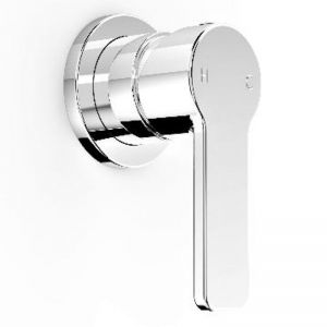 Zeos Wall Mixer with Round Backplate