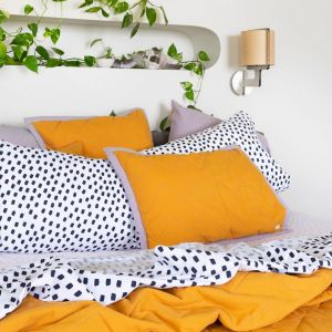 Zig & Zag | Quilted Pillowcase | More Than Ever