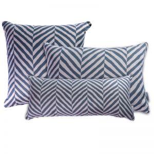 Zimbali Grey   Sunbrella Fade and Water Resistant Outdoor Cushion