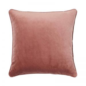 Zoe Velvet Cushion - Blush | by Weave Home