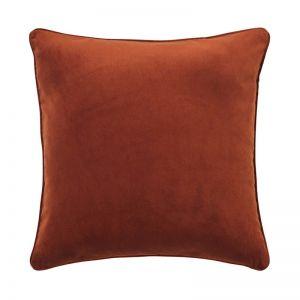 Zoe Velvet Cushion - Copper | by Weave Home