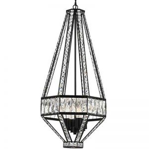 Zofio 4LT Pendant Light (E14), Oiled Bronze | Schots