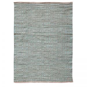 Zola Aqua | Handwoven Flat Weave Rug | Various Sizes