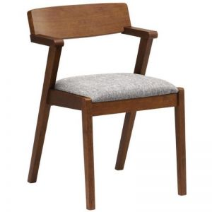 Zola Dining Chair | Cocoa + Pebble Grey