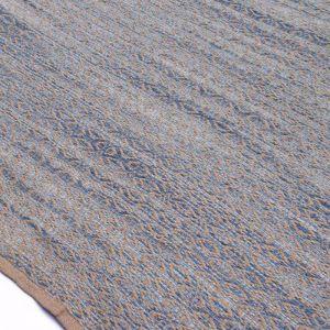 Zola Polo Blue | Handwoven Flat Weave Rug