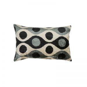 Zulta Cushion   Ikat Sage   Fenton & Fenton