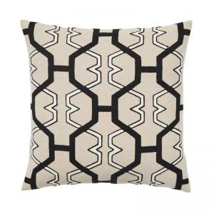 Zulu Embroidered Cushion | by Weave Home