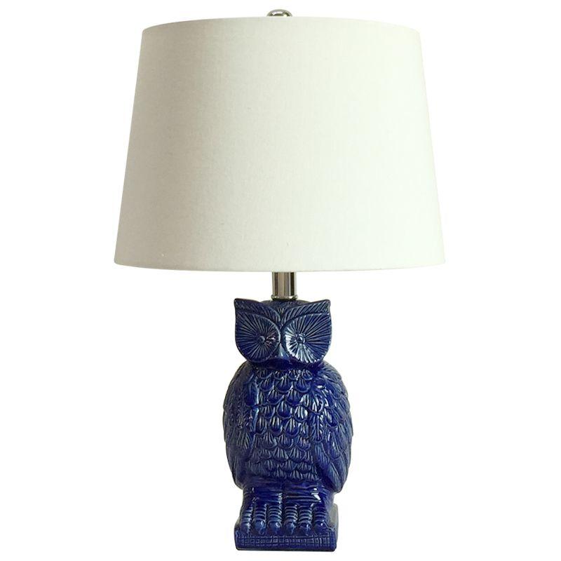 Owl Bedside Lamp, Owl Table Lamp