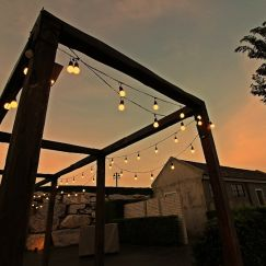 10 Solar String Festoon Lights