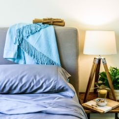 100% Organic Bamboo Bed Sheet | King Single | Various Colours