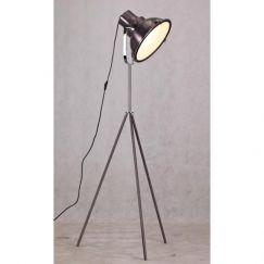 Aeolus Floor Lamp | Metallic Black