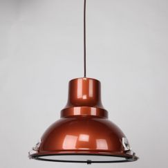 Aeolus Pendant Light   Pearl Copper