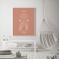 After The Storm | Line Art Print | Framed or Unframed