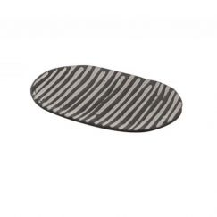 Akono Decorative Plate | Stripes