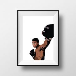 Ali | Art Print | Framed and Unframed