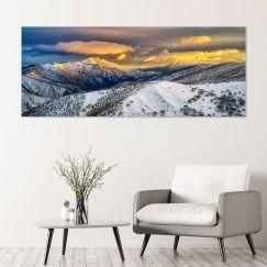 Alpine Magic | Canvas Print by Scott Leggo