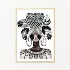 Amanda | Art Print by Grotti Lotti